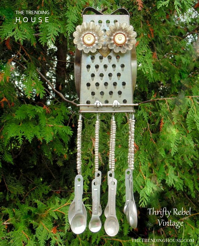 """Junk"" Chime with Grater and Spoons"