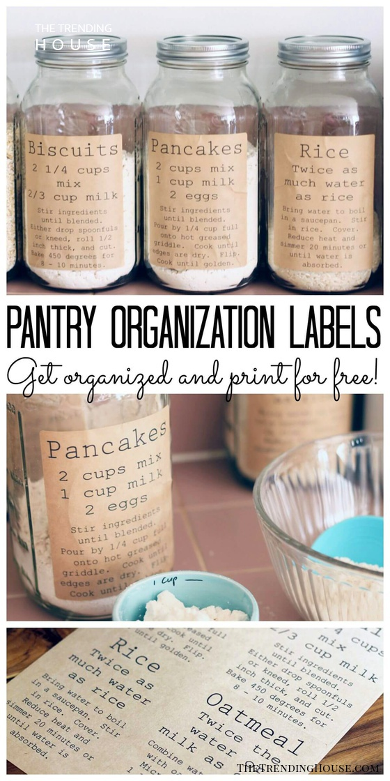 Keep Your Pantry Staples Organized