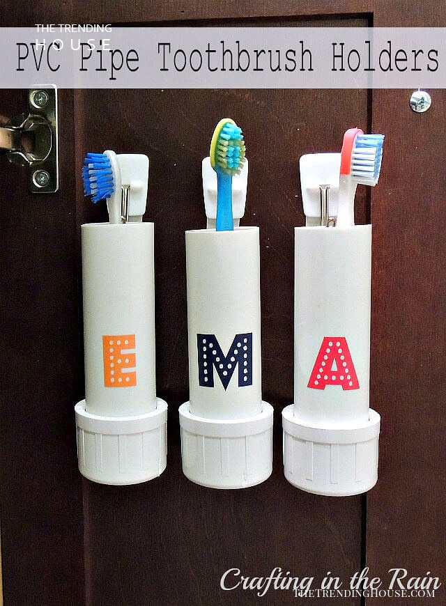 Kids' Customized Toothbrush Holders