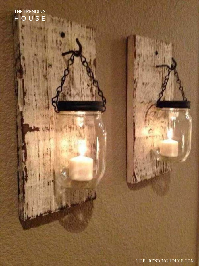 A Glowing Farmhouse Idea