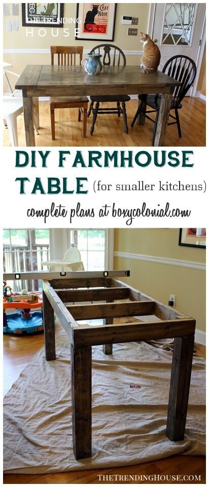 Make Farmhouse Fit in Your Small Kitchen