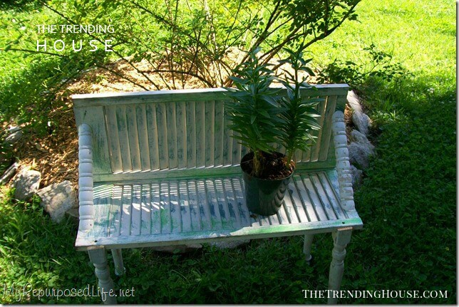 Make a Handy Bench with Shutters