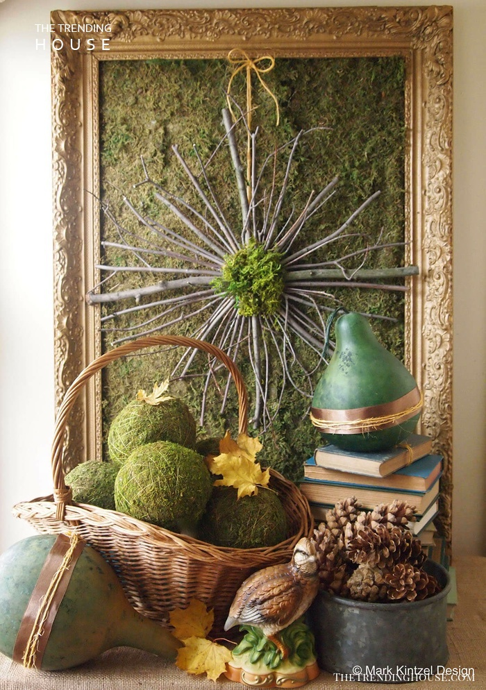 Make a Statement with an Indoor Twig Wreath