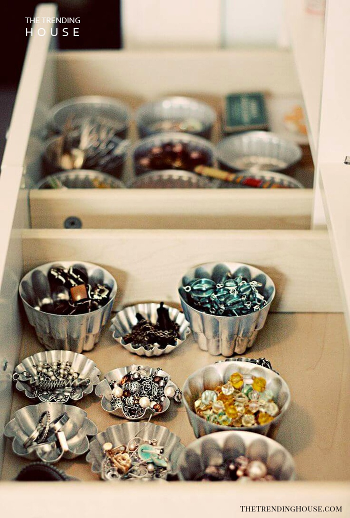 Metallic Muffin Tin Accessory Cups