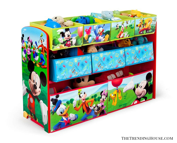 Mickey and Friends Three-Tier Toy Chest
