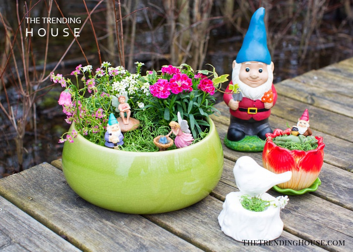 Midsummer Garden Party Planter