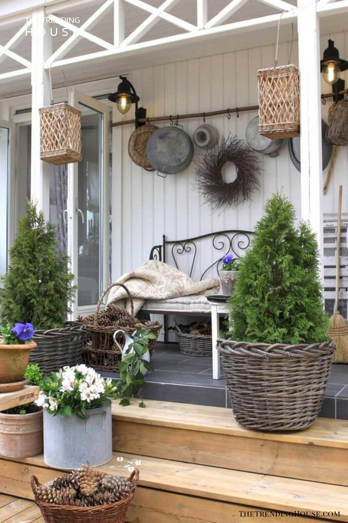Mixed Pots, Baskets, and Wreaths