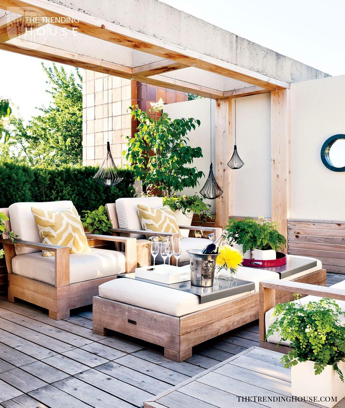 Modern Rooftop Terrace Retreat