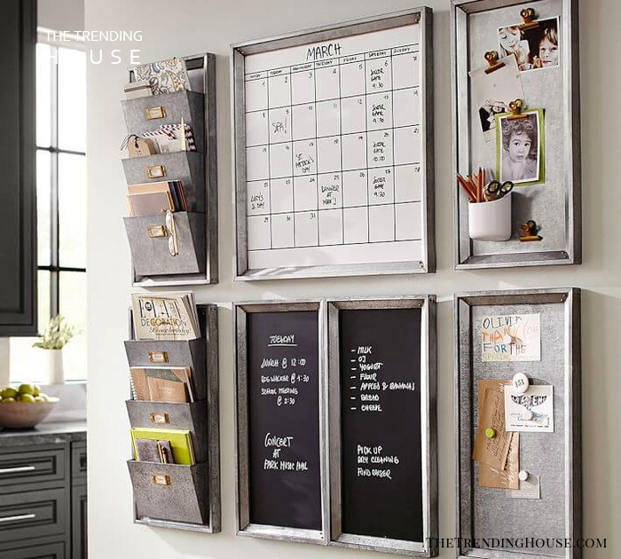 Neat Office-Inspired Command Center
