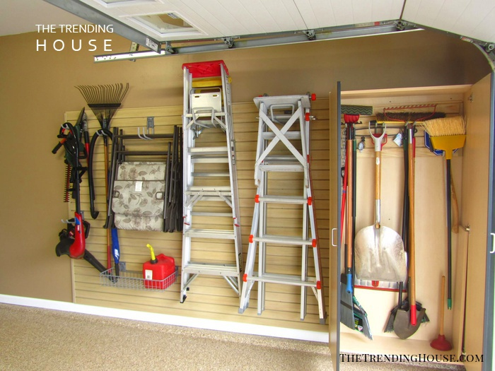 No Tool Shed Required Garage Layout