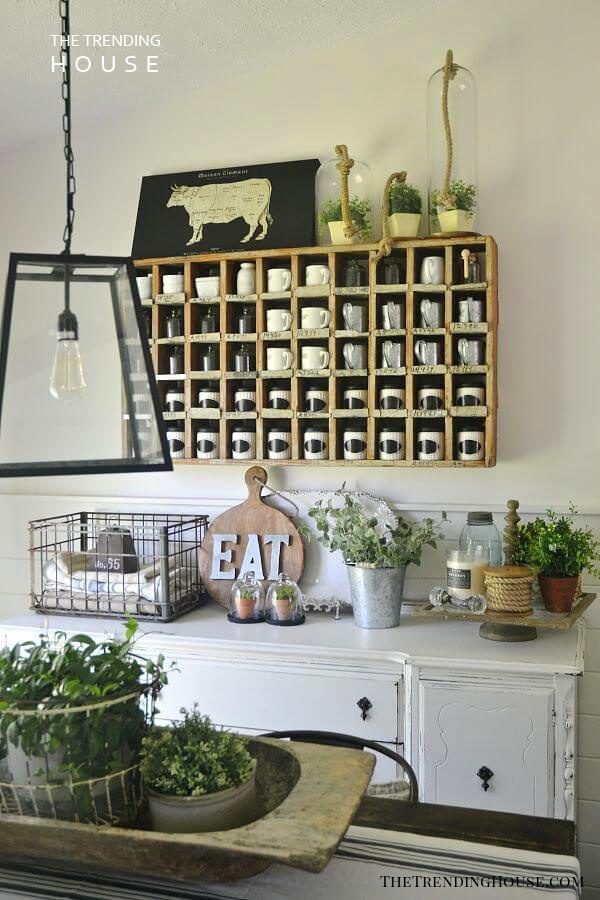 Old Farmhouse Decor with Beauty and Functionality