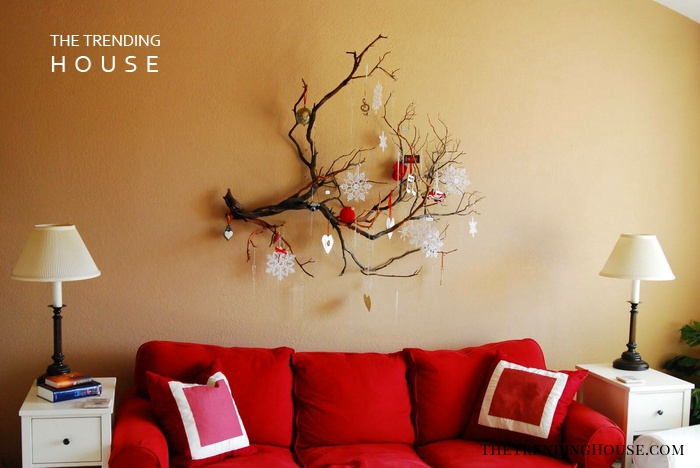 Old Tree Branch Decorative Wall Hanging