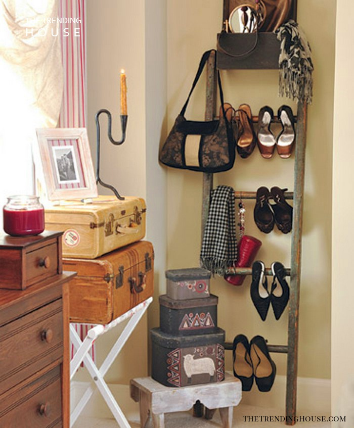 Orchard Ladder Shoe Rack