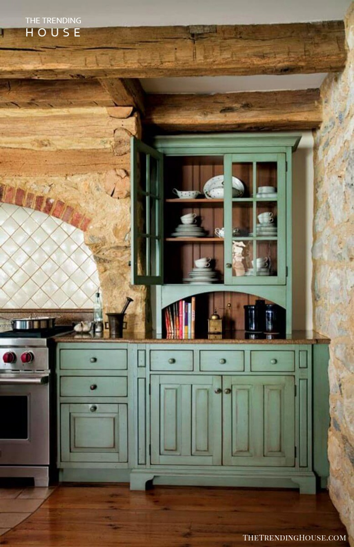 Parisian Patisserie Style Cabinets