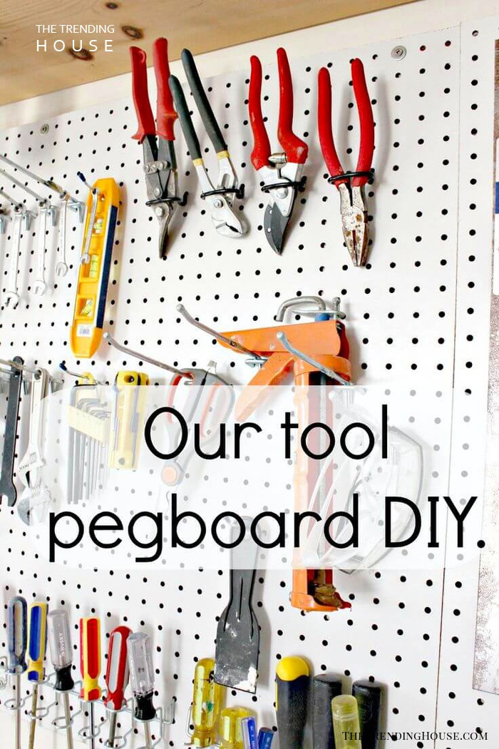 Pegboard Tool Organizing Project
