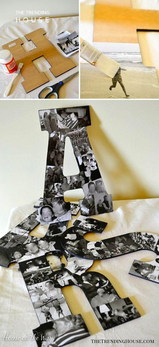 Personalize Letters With Your Favorite Photos