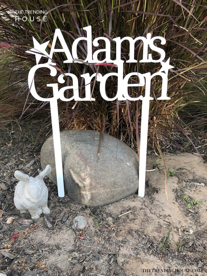 Personalized Garden Signs