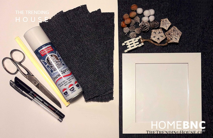 Prepare Everything you'll Need for the Frame