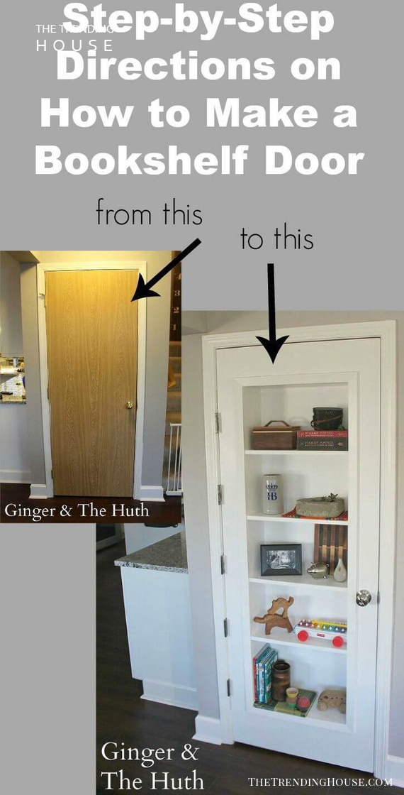 Put a Bookshelf in Your Door