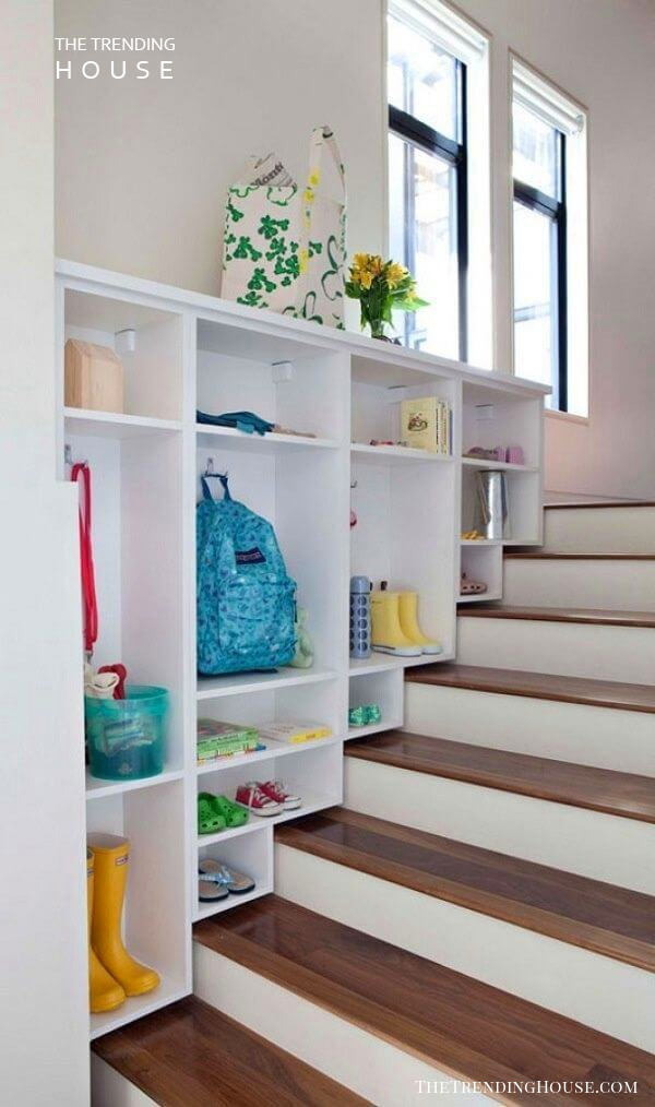 Ready for School Entryway Cubbies