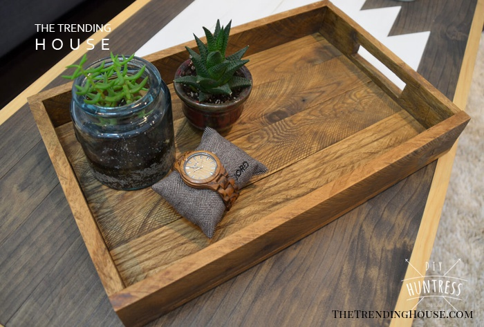 Reclaimed Wood Farmhouse Tray for Anything