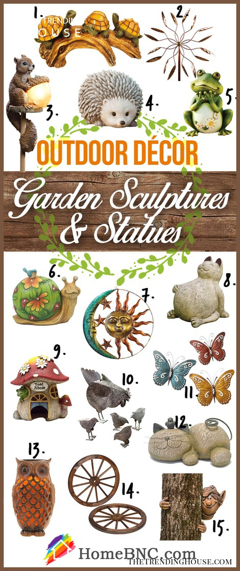 Beautiful Garden Sculptures and Statues