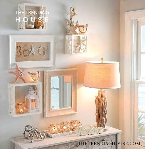 Seaside Shadowboxes Make a Gorgeous Arrangement