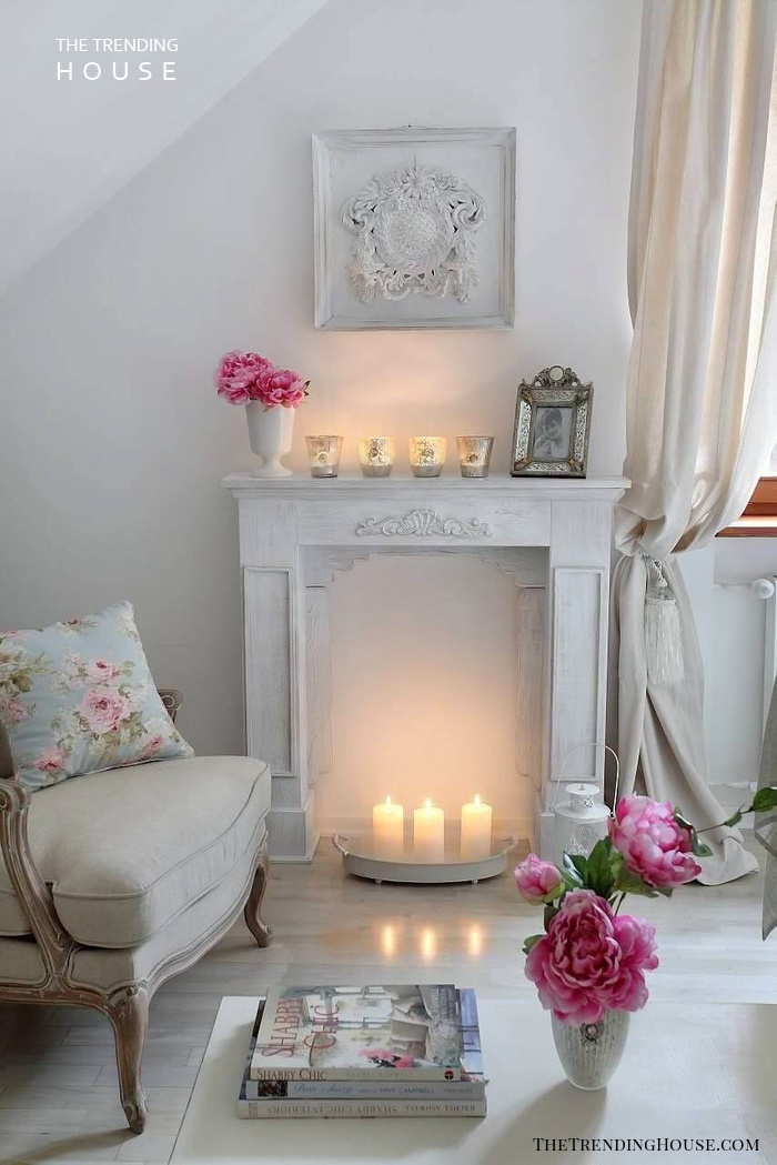 32 shabby chic living room decor ideas for a comfy and