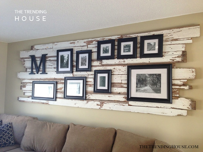 Ship's Driftwood Gallery Wall Mount