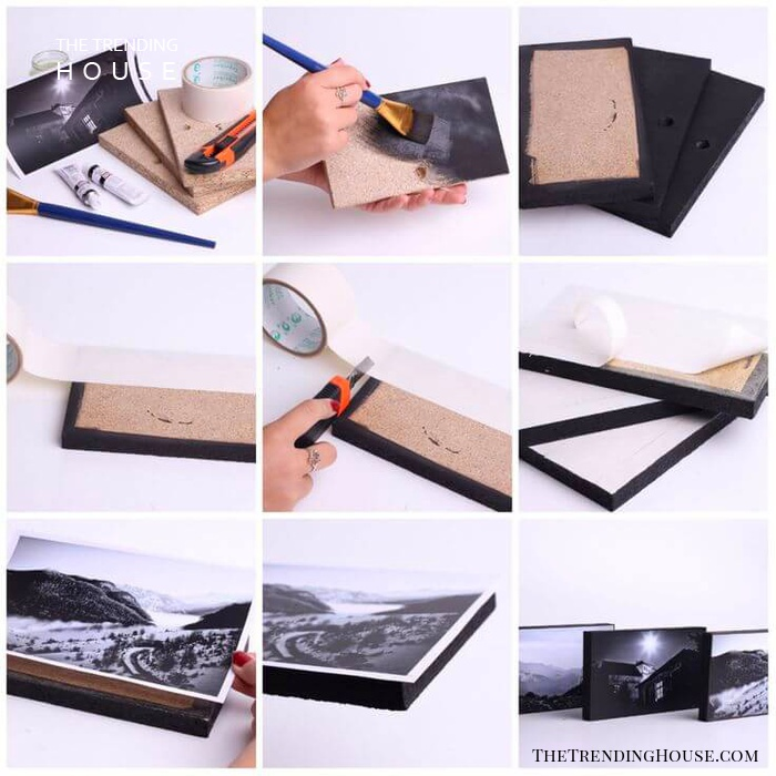 Simply Chic and Modern Photo Blocks