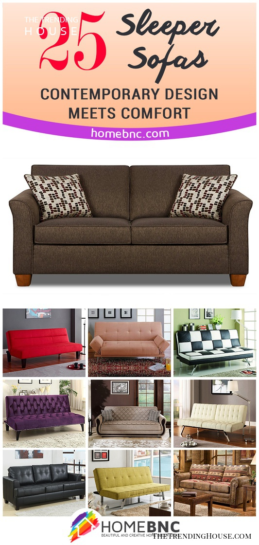 Super Todays Sleeper Sofa Beds Contemporary Design Meets Comfort Short Links Chair Design For Home Short Linksinfo