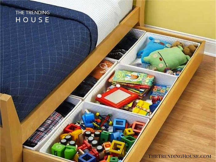 Slide-Out Under-the-Bed Storage