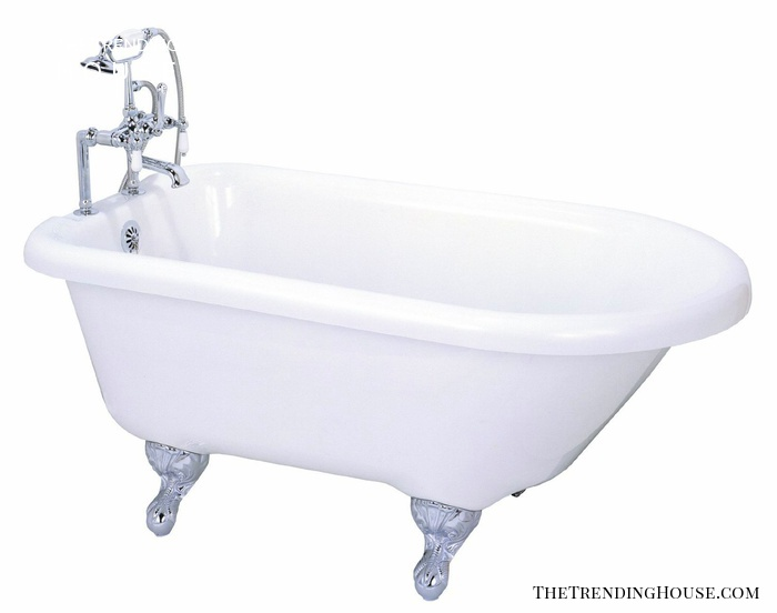 55″ Roll Top Clawfoot Tub from Elizabethan Classics