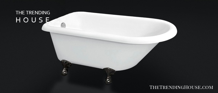 "Freestanding 55″ Bathtub, ""Howard"" from The Tub Connection"