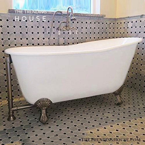 "54″ Cast Iron Swedish Tub, ""Gentry"" from The Tub Connection"