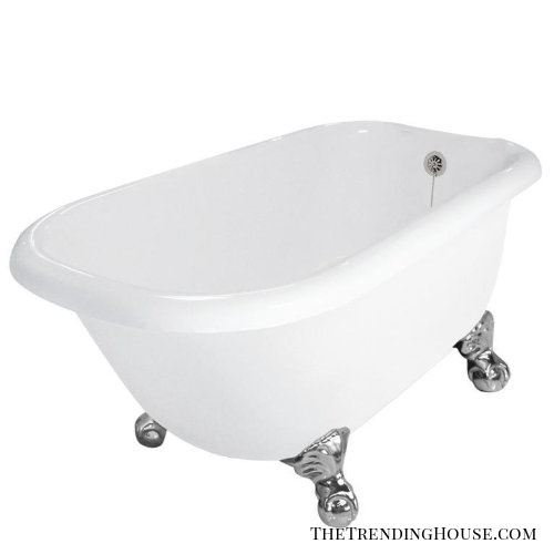 "Jester 54"" x 30"" AcraStone Traditional Bathtub from American Bath Factory"