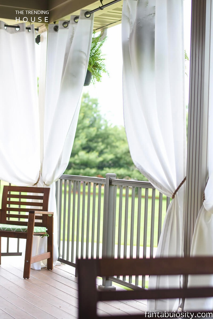 Soft and Peaceful Sailcloth Curtains