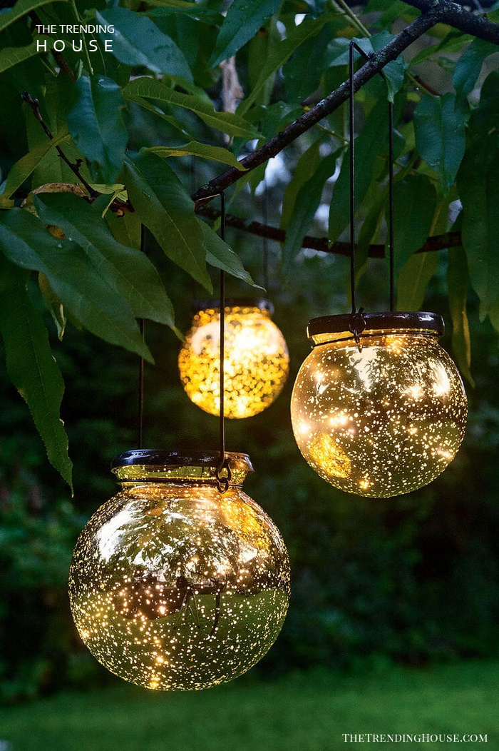 Solar Fairy Dust Tree Globes