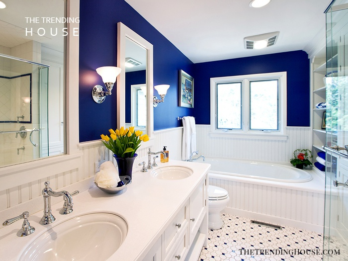 Sophisticated Style for Small Bathrooms