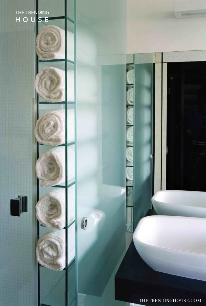34 Space Saving Towel Storage Ideas For Your Bathroom The Trending House