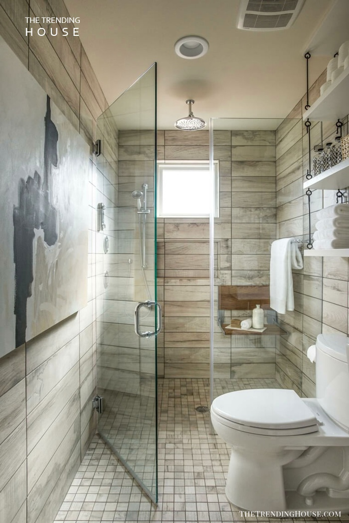 Space-Expanding Horizontal Tiles in Neutral Tones