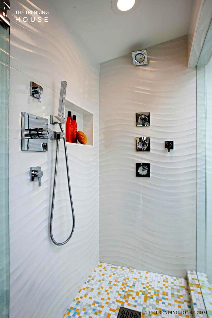 32 Best Shower Tile Ideas That Will Transform Your Bathroom The Trending House