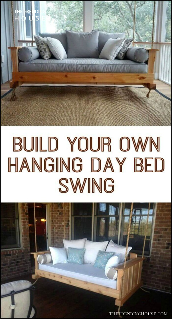 Sweet Dreams Hanging Day Bed Swing