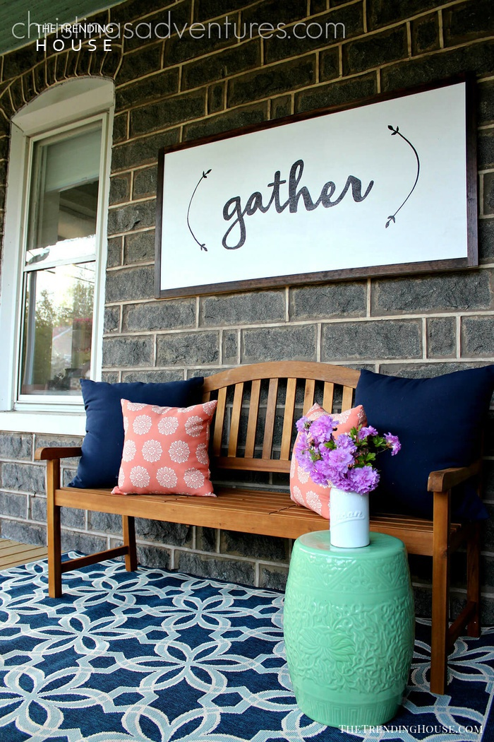 Sweet Porch Seating Area Sign