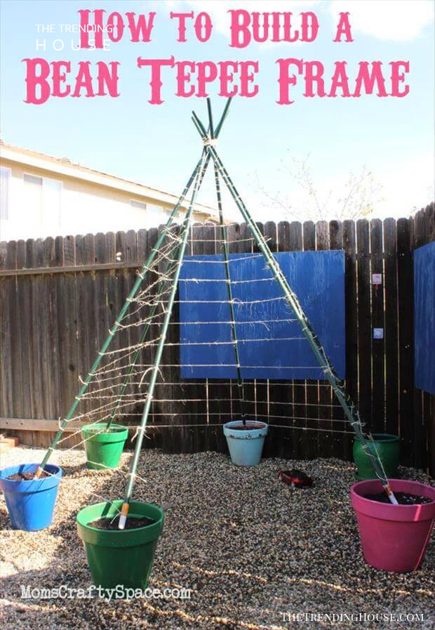 24 Easy Diy Garden Trellis Projects You Can Do This