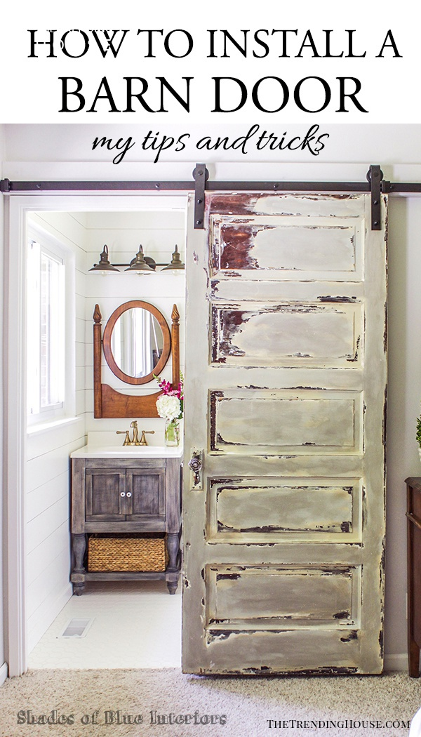 The Ultimate In Farmhouse Style: Barn Doors
