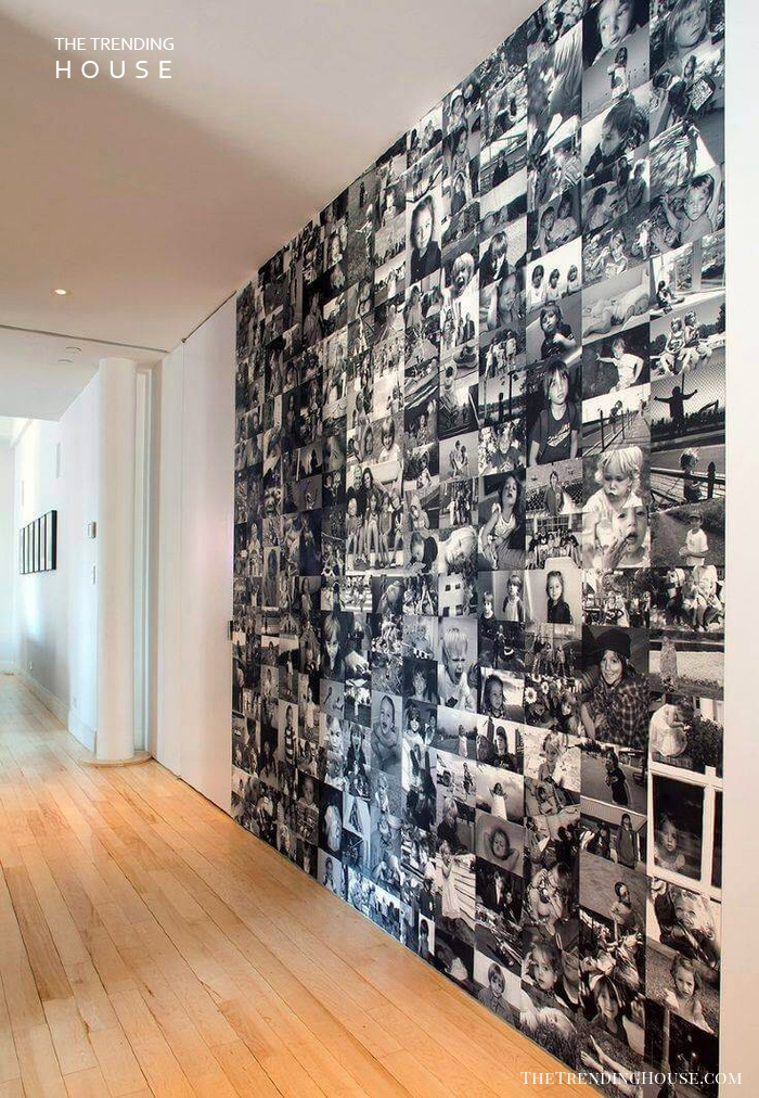The Smiling Wall of Photos