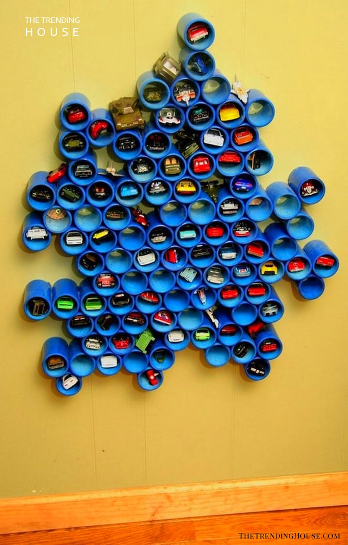 Toy Car Collection Wall Art