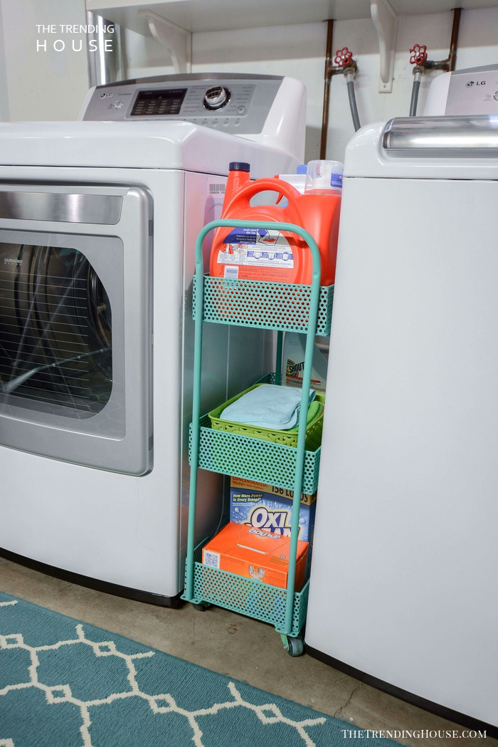 Tuck Away a Laundry Caddy