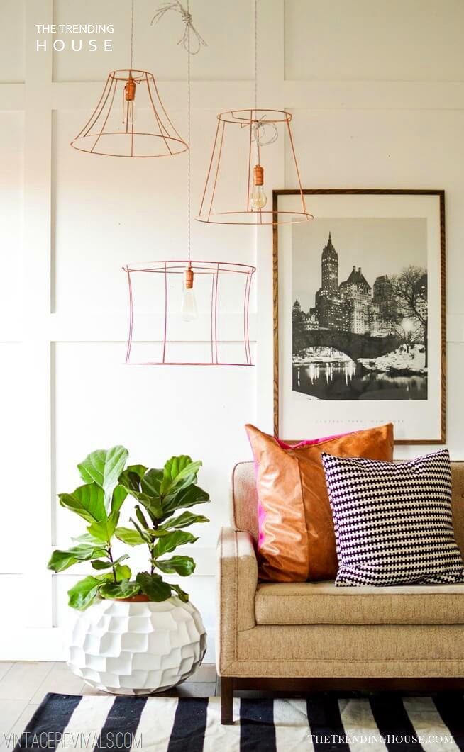 Ultra Modern Wired Lampshade